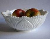 Vintage Milk Glass Bowl