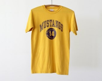 vintage basketball t-shirt,  1980s sports tee
