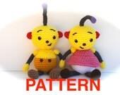Rolie Polie Olie PATTERN PDF - Crocheted Doll - Rollie Pollie Ollie Show