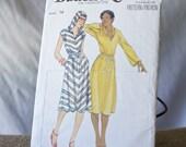 Vintage Hooded Dress Pattern