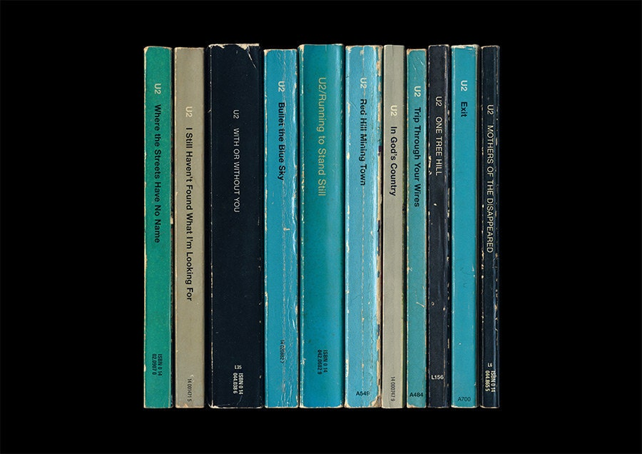 U2 The Joshua Tree Album As Penguin Books Poster