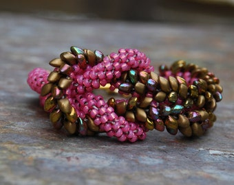 Kumihimo Knot Bracelet