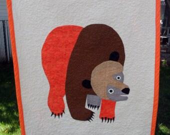 Brown Bear Quilt