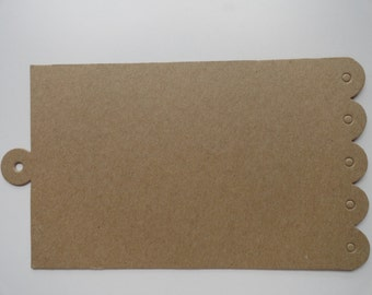 Bare Chipboard Album 5.25 high x 8 inches long