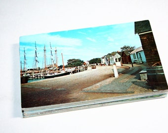75 Vintage Connecticut Chrome Postcards Blank - Travel Themed Wedding Guestbook