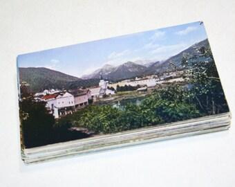 75 Vintage Alaska Chrome Postcards Blank - Wedding Guestbook