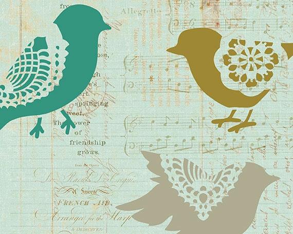 Птица в кружевах