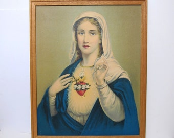 Sacred Heart of Mary Print
