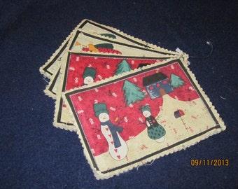 Christmas Mug mats