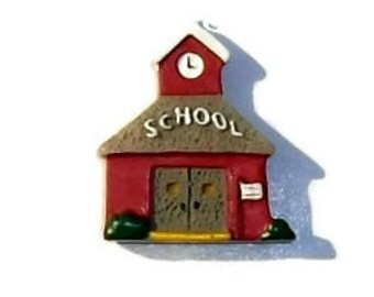 SCHOOL House Buttons