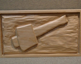 Wood Relief Carving, Carvers Mallet: Tools of the Trade