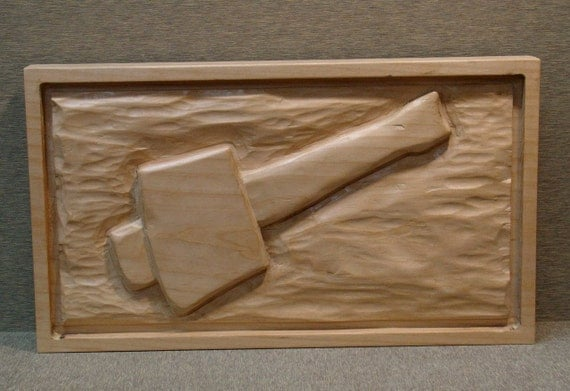 Wood relief carving carvers mallet tools of by