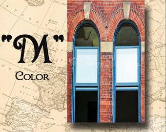 Letter M Alphabet Photography Color 4 x 6 Photo Letter Unframed