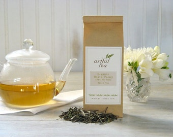 Organic White Peony Tea • 3 oz. Kraft Bag • Pai Mu Tan Loose Leaf Tea