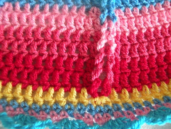 Crochet Round Jacob S Ladder Afghan Lucy Colors Baby