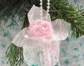 Handmade Shabby Christmas Ornament