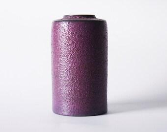 Vintage Dutch Purple Lava Vase - Afina  60s