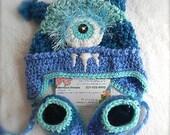 Baby Boy Monster set- Newborn gift set