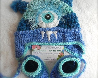 Baby Boy Monster set- 0-3 and 3-6 months