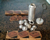 Antique Baked Goods Decorating Kit, Collectible Kitchen Baking Accessory