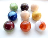 BALL SOAP, Soap Rounds, Round Soap, Egg Soap, Novelty Soap, Dragon Eggs Marble Soap, Set of Four - Pick Your Own Color and Scent, Handmade