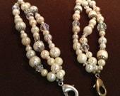 Triple Strand Interchangeable Vintage Bracelet