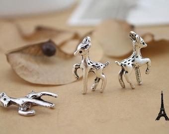Wholesale cute deer charms-20 pcs-F914