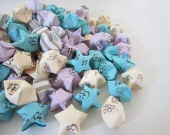 SALE LAST SET 180 Om and Lotus Origami Stars