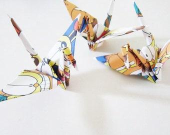 SALE Garfield Comic Donuts Origami Cranes