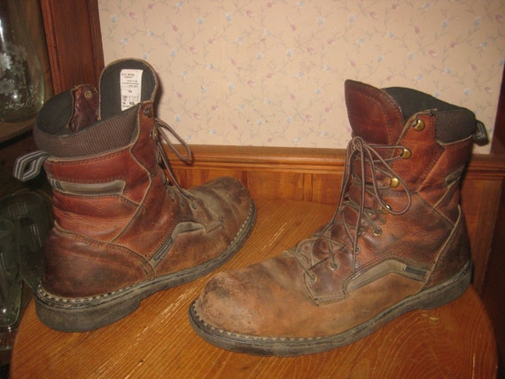 Red Wing 938 Soft Toe Work Boots Men 13 Wide