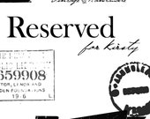 RESERVED. Vintage Individual Serving Copper Pans, Set of 2