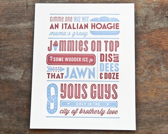 Philly Slang Prints