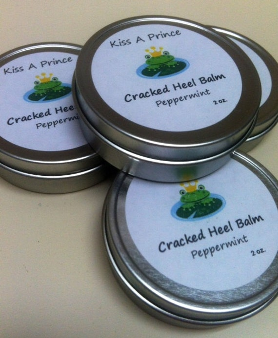 Cracked Heel Balm...also great for cuticles, knees, elbows. Orange &  Peppermint  Deep Therapy