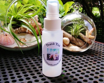 Spray Bottle 2 oz for misting air plants