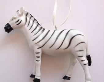Zebra necklace, Animal jewelry, fun necklace, wild animal necklace