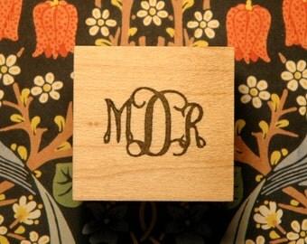 Script Monogram Stamp