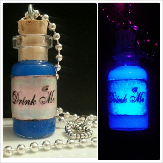 Alice In Wonderland Drink Me Bottle Potion By