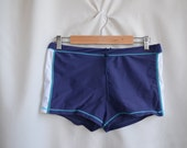 ON SALE - Vintage Mens Swimsuit - size M-L