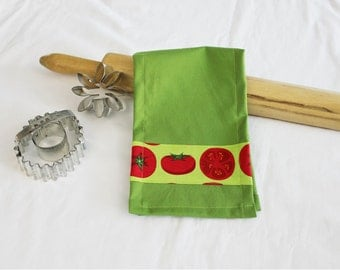 Tomatoes Child Size Toy Dish Towel for pretend play