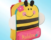 Backpack - Personalized and Embroidered - Sidekick Backpack - BEE
