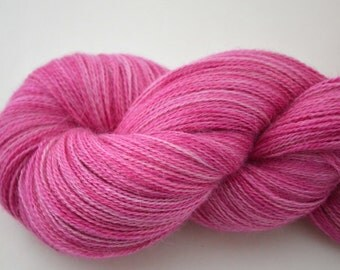 Lace Weight  Yarn Alpaca Silk Cashmere ( Free Pattern with this yarn)
