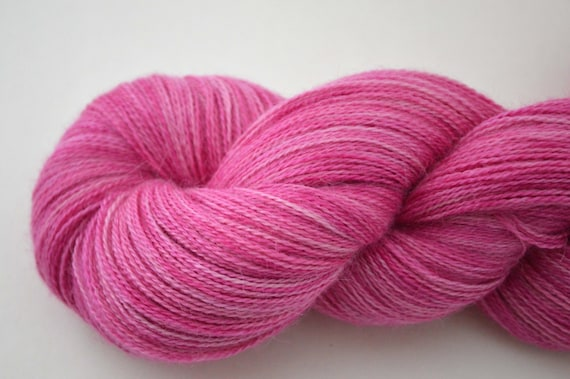 Lace Weight Yarn : Lace Weight Yarn Alpaca Silk Cashmere ( Free Pattern with this yarn)