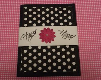 Hugs Note Card Booklet