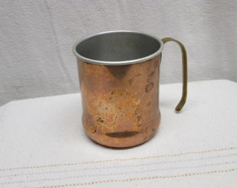 Copper and Brass Mug