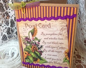 Happy Halloween, Vintage Inspired Card