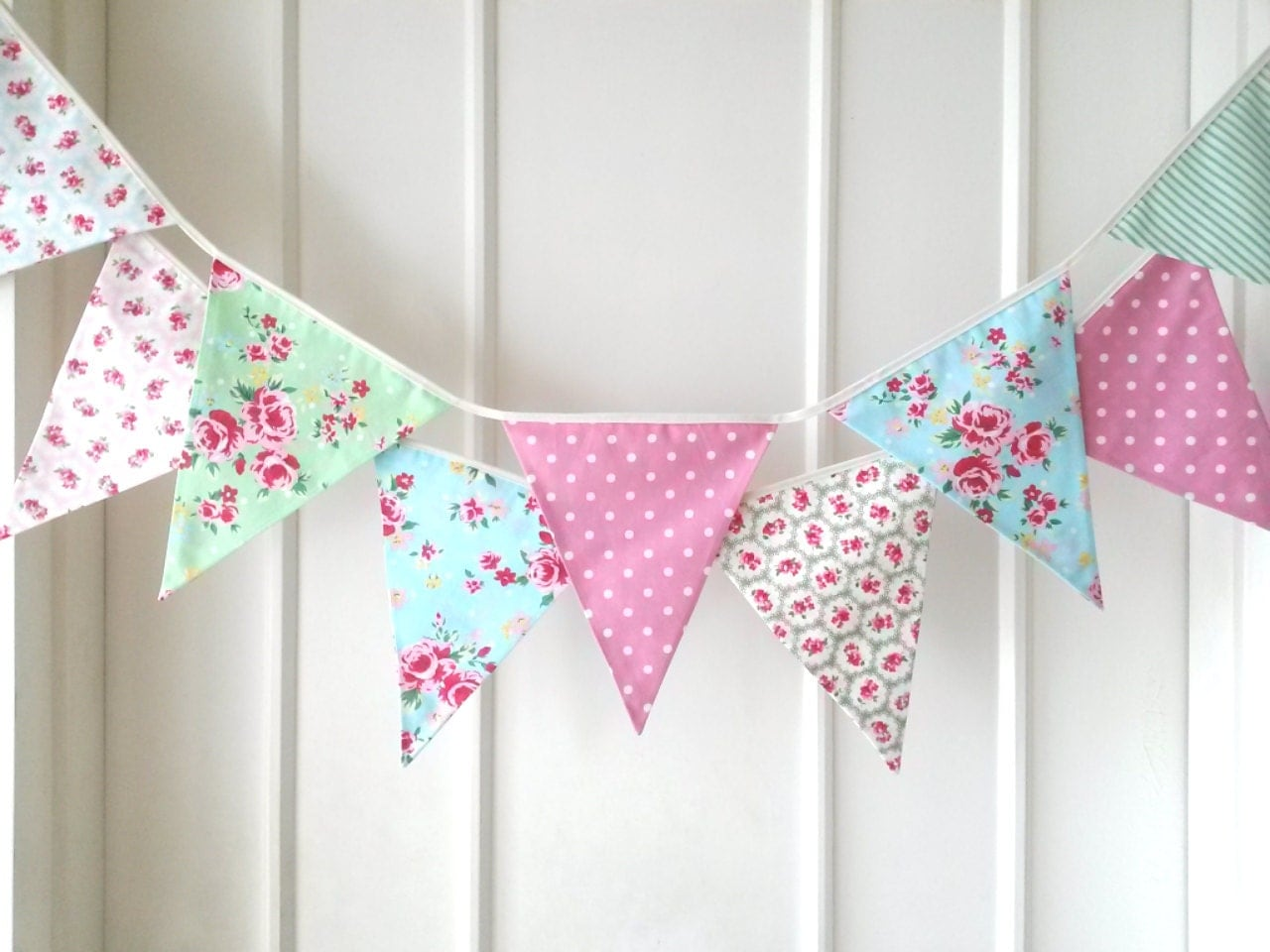 shabby chic bunting - photo #12