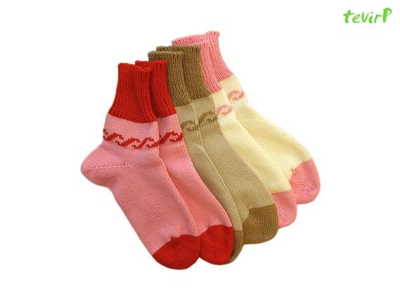 Socks - all adult sizes - 100% merino wool unisex men women knitted
