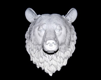 White Bear Wall Mount - Faux Taxidermy BE01
