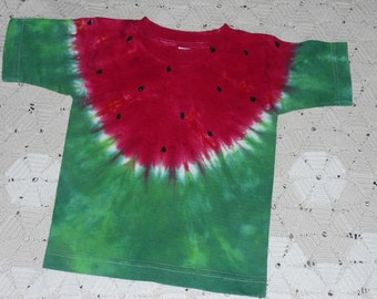 Tie dye shirts, WATERMELON- TODDLER, infant, and Youth sizes - Watermelon festivals, INSTANT Halloween Costume , 500