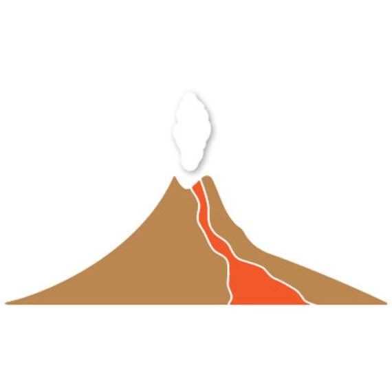 Volcan mural pochoir pour peinture pour enfant ou b b chambre - Pochoir mural chambre ...